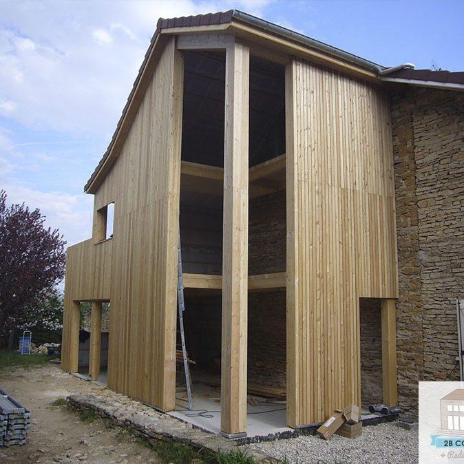 construction-extension-ossature-bois