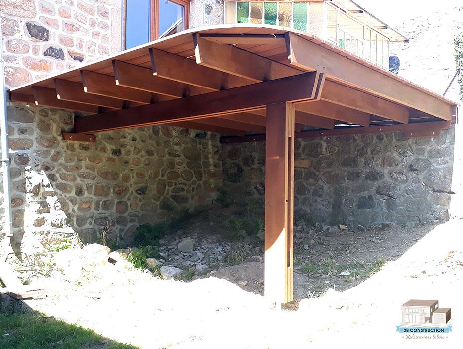 Construction D Une Terrasse En Bois Sur Pilotis Cartier